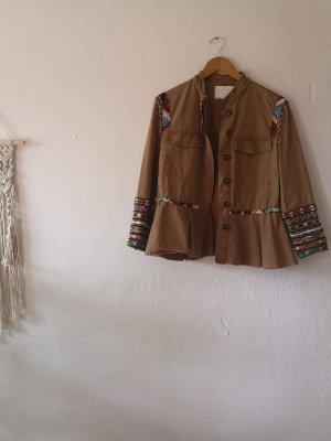 Jacke mit Stickerei Gr. M