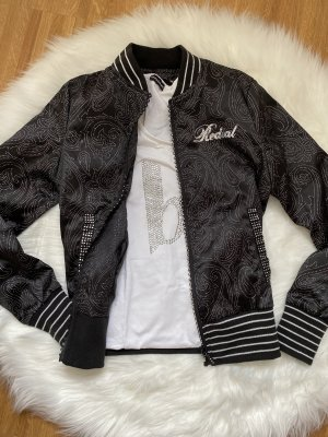 Shirt Jacket black-silver-colored