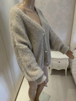 olger Gilet tricoté doré