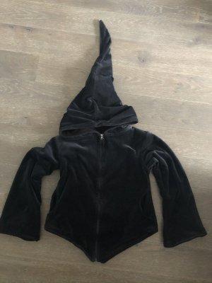 Handmade Veste à capuche noir