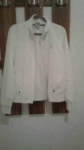 Nike Chaqueta estilo camisa blanco