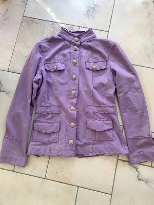 Café Noir Sweat Blazer purple