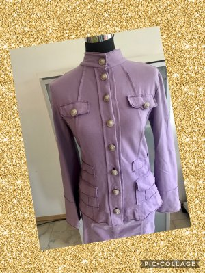 Café Noir Blazer sweat violet
