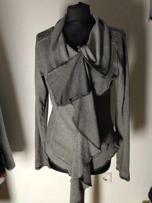 Kuhjo Shirt Jacket light grey-grey