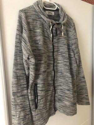 Only Veste chemise gris clair-gris