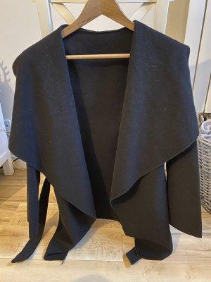 Made in Italy Kurtka oversize czarny