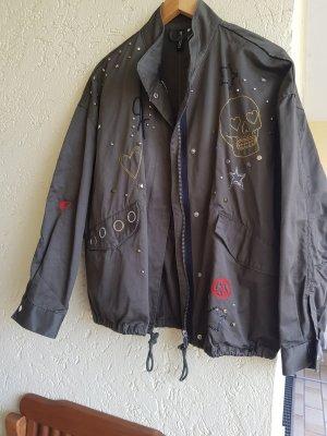 Jacke Oversize in khaki von h&m