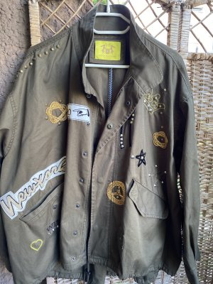 Witty Knitters Giacca militare cachi