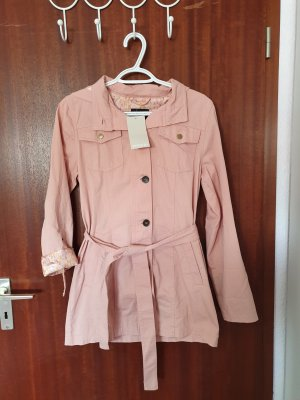 Defacto Long Jacket light pink