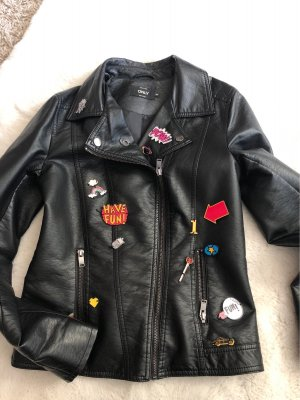 Jacke patches gr 34