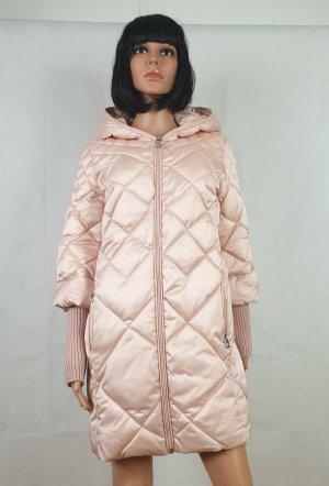 Abrigo de plumón rosa