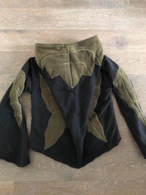 Fleece Jackets black-khaki