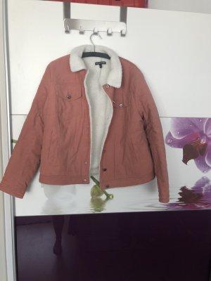 Second Script Fur Jacket pink