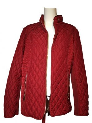 Michele Boyard Outdoor Jacket bordeaux-brown red