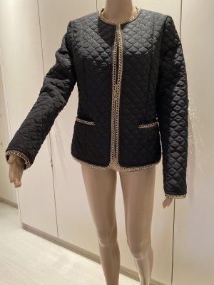Jacke schwarz gold neu ohne Etikett