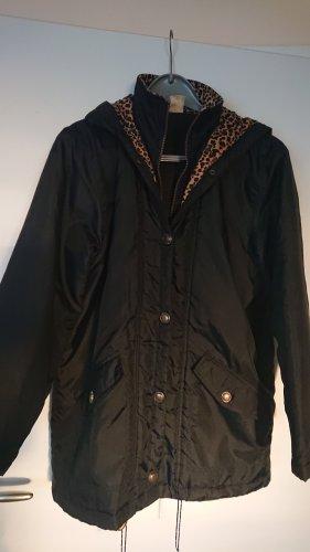 Jacke schwarz /leo in Gr. L