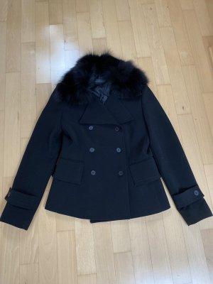 Rossodisera Futrzana kurtka czarny