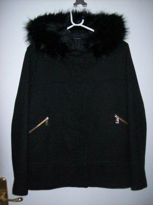 Zara Basic Veste d'hiver noir polyester