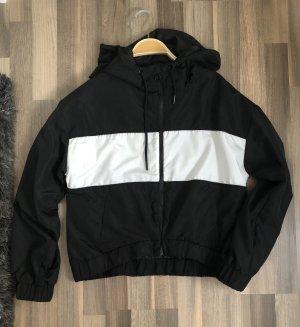 Jacke schwarz/weiß