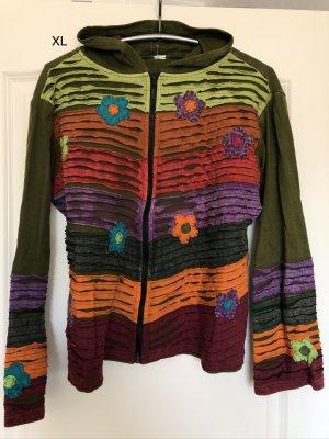 unbranded Veste chemise multicolore coton
