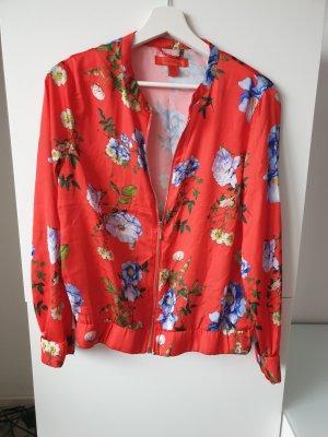Jacke Shirtjacke Blumenmuster