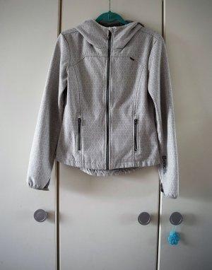 Bench Giacca softshell bianco-grigio chiaro Poliestere