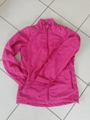Jacke Sportjacke Fitness Laufen Größe 34 rosa pink warm