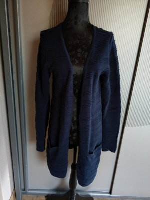 Jacke Strickjacke blau Tom Tailor