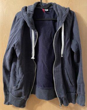 Jacke Strickjacke H&M Blau Frauen 42