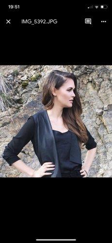 Zara Blazer in pelle nero