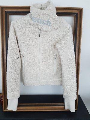Bench Kurtka przejściowa w kolorze białej wełny
