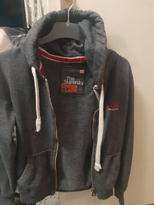 Superdry Fleece Jackets silver-colored