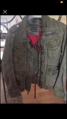 Superdry Military Jacket green