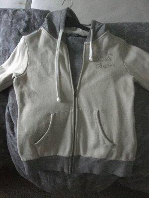North sails Veste chemise blanc cassé-gris