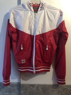 Thor Steinar Bomber Jacket white-red