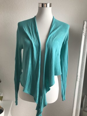Made in Italy Bolero turquoise viscose