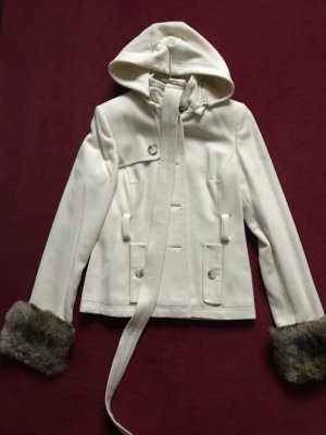 Donna Between-Seasons Jacket natural white wool