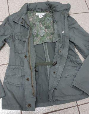 Jacke Übergangsjacke khaki grün Gr.S von H&M