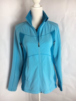 Columbia Sports Jacket baby blue-neon blue
