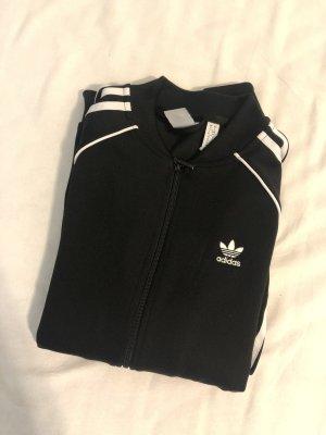 Adidas Giacca fitness nero-bianco
