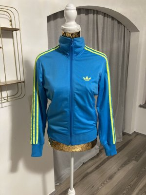 Adidas Originals Giacca mezza stagione blu fiordaliso