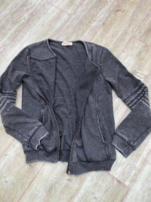 American Vintage Shirt Jacket dark grey