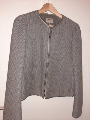 Armani Collezioni Veste courte gris vert coton
