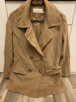 BGN Wool Jacket light brown wool