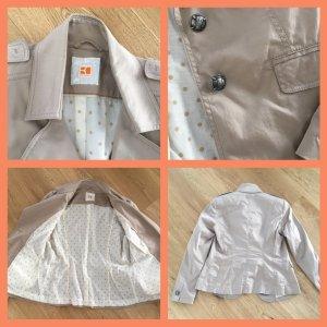 Boss Orange Veste courte crème-beige clair coton