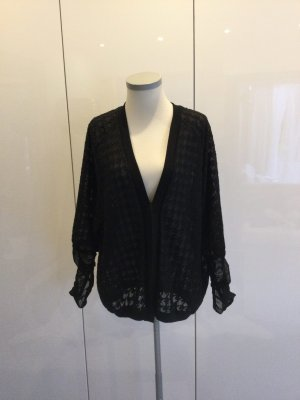 BSB Collection Veste chemisier noir