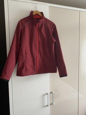 CMP Giacca con cappuccio rosso scuro Poliestere