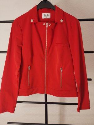 Between-Seasons Jacket red polyamide