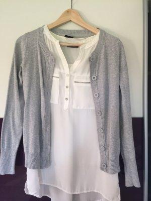 Cubus Veste chemise gris clair