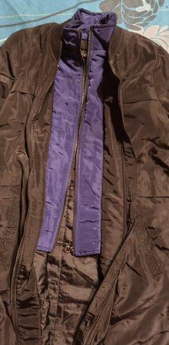 Defacto Long Jacket black-dark blue